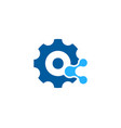 mechanical share logo icon design vector image