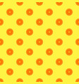 orange fruit seamless yellow pattern vector image vector image