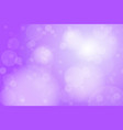 purple violet bokeh abstract background vector image vector image