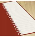 notebook vector image
