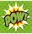 Pop art and comic design vector image