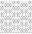 Abstract hexagonal seamless pattern vector image vector image
