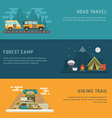 Camping Outdoor Activity Concept Backgrounds vector image vector image