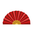 chinese traditional fan vector image