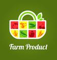 FarmProd vector image vector image