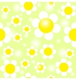 field daisies seamless pattern eps10 vector image