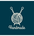 Handmade line icon vector image vector image