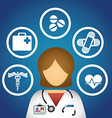health care vector image vector image