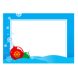 hristmas frame vector image