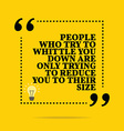 Inspirational motivational quote People who try to vector image vector image
