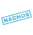 Nachos Rubber Stamp vector image vector image