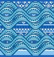 sea wave background vector image vector image