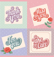 typography greeting card vector image vector image