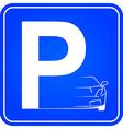 ZnakP Auto vector image
