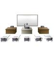 Classroom vector image vector image