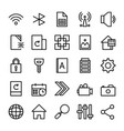 collection of ui essentials vector image