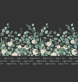 elegant seamless pattern with silver dollar vector image vector image
