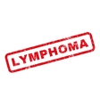 Lymphoma Rubber Stamp vector image