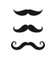 mustaches old vector image