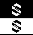 s letter logo design letter s design s logo vector image vector image