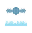 sound wave symbol vector image
