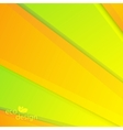 Colorful Eco Background Can be used for vector image vector image