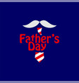 fathers day template design vector image vector image