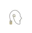 Favorite music computer symbol vector image