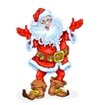 Friendly Santa Claus vector image