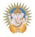 Hindu Ganesh vector image