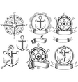 Nautical emblems vector | Price: 1 Credit (USD $1)