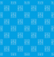 sound mixer pattern seamless blue vector image