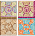 antique mosaics vector image vector image