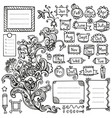bullet journal hand drawn elements for notebook vector image vector image