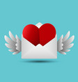 love message concept vector image