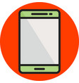 phone line filled icon vector image vector image