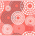 seamless pattern background in trendy color vector image