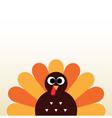 Thanksgiving colorful Turkey greeting