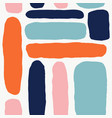 trendy seamless pattern with abstract forms vector image vector image