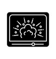 visual effects glyph icon vector image vector image
