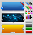 web sliders and ribbons backgrounds vector image vector image