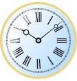 Watch roman numeral vector image