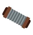single accordeon icon vector image