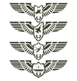 Army badges-2 vector image vector image