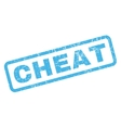 Cheat Rubber Stamp vector image vector image