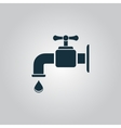 faucet icon vector image vector image