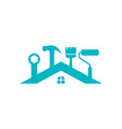 house maintenance icon design template vector image