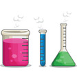 Laboratorium Chemical Flask vector image vector image