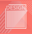 living coral color of the year color trend vector image vector image