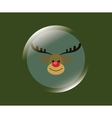 merry christmas related icons image vector image